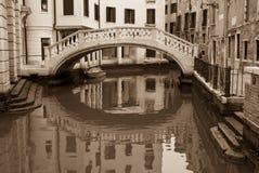 Passerella veneziana immagine stock libera da diritti