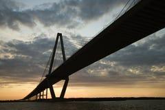 Passerelle à Charleston Photos libres de droits