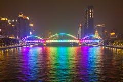 Passerelle à Hong Kong Images libres de droits