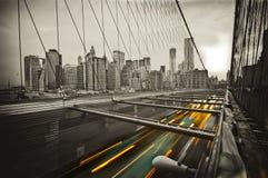 Passerelle à New York Image libre de droits