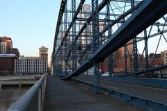 Passerelle à Pittsburgh photo libre de droits