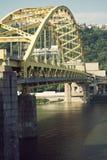 Passerelle à Pittsburgh photos libres de droits
