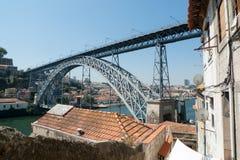 Passerelle à Porto Photographie stock
