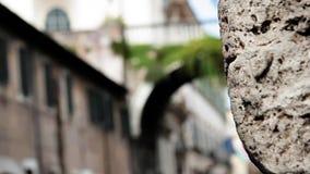 Passerelle à Rome banque de vidéos