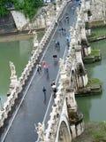 Passerelle à Rome Image libre de droits