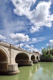 Passerelle à Rome Photographie stock
