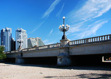 Passerelle à Valence, Espagne Photographie stock