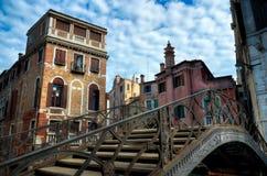 Passerelle à Venise Photographie stock libre de droits