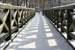 Passerelle Photos stock