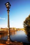 Passerelle au-dessus de fleuve d'Arno, Florence photo libre de droits