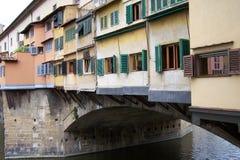 Passerelle au-dessus de Florence Photo libre de droits