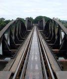 passerelle au-dessus du kwai de fleuve Images stock