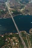 Passerelle - Bosphorus - Istanbul Photo libre de droits