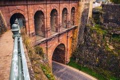 Passerelle bridge or Luxembourg Viaduct Stock Photo
