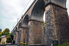 Passerelle bridge or Luxembourg Viaduct Stock Image