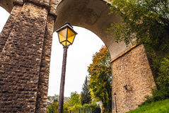 Passerelle bridge or Luxembourg Viaduct Royalty Free Stock Images