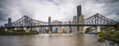 Passerelle Brisbane d'histoire photo libre de droits