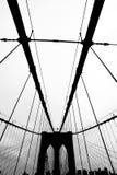 passerelle Brooklyn Photos libres de droits