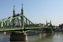 Passerelle Budapest de libert? images libres de droits