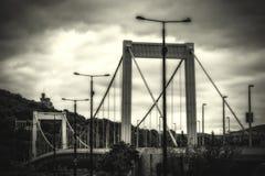 passerelle Budapest elizabeth Photo libre de droits