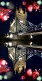 Passerelle célèbre de tour, Londres, R-U Photographie stock libre de droits