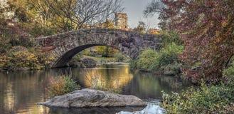 Passerelle Central Park, New York City de Gapstow Images stock