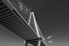 Passerelle Charleston de fleuve de tonnelier Image libre de droits