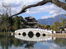 Passerelle chinoise Image libre de droits