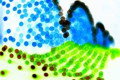 Passerelle colorée Photo libre de droits
