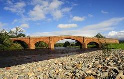 Passerelle d'Éden, Lazonby, Cumbria Photos libres de droits