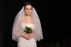 Passerelle d'Afffair en Mercedes-Benz Fashion Week Istanbul Photos stock