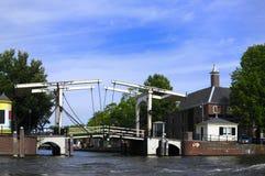 Passerelle d'Amsterdam Photo stock
