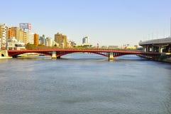Passerelle d'Asakusa Photos stock