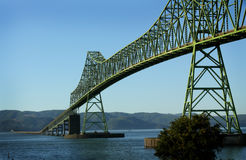 Passerelle d'Astoria Megler Photographie stock