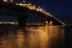Passerelle d'Auckland Habour Photo stock