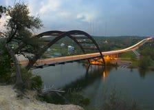 Passerelle d'Austin 360 Images libres de droits