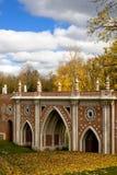 Passerelle d'or d'automne Photos stock