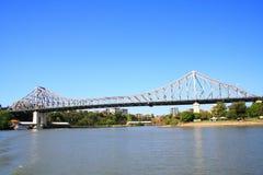 Passerelle d'histoire de Brisbane Photo libre de droits