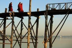 Passerelle d'U Bein Image libre de droits