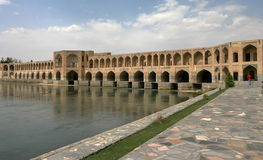 Passerelle dans Esfahan. l'Iran Photo stock