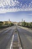 Passerelle dans la ville Photos stock