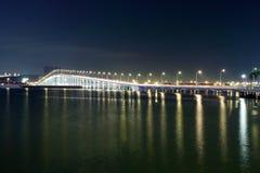 Passerelle dans Macao Images libres de droits