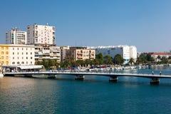 Passerelle dans Zadar Photos libres de droits