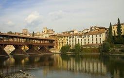 Passerelle de Bassano del Grappa Image libre de droits