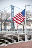 Passerelle de Ben Franklin Photo stock