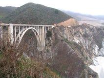 Passerelle de Bixby - grand Sur - Californie images libres de droits