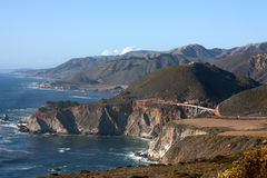 Passerelle de Bixby - grand Sur - Californie Photo stock