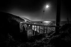 Passerelle de Bixby - grand Sur - Californie Image libre de droits