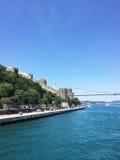 Passerelle de Bosphorus à Istanbul Images stock