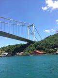 Passerelle de Bosphorus à Istanbul Photos stock
